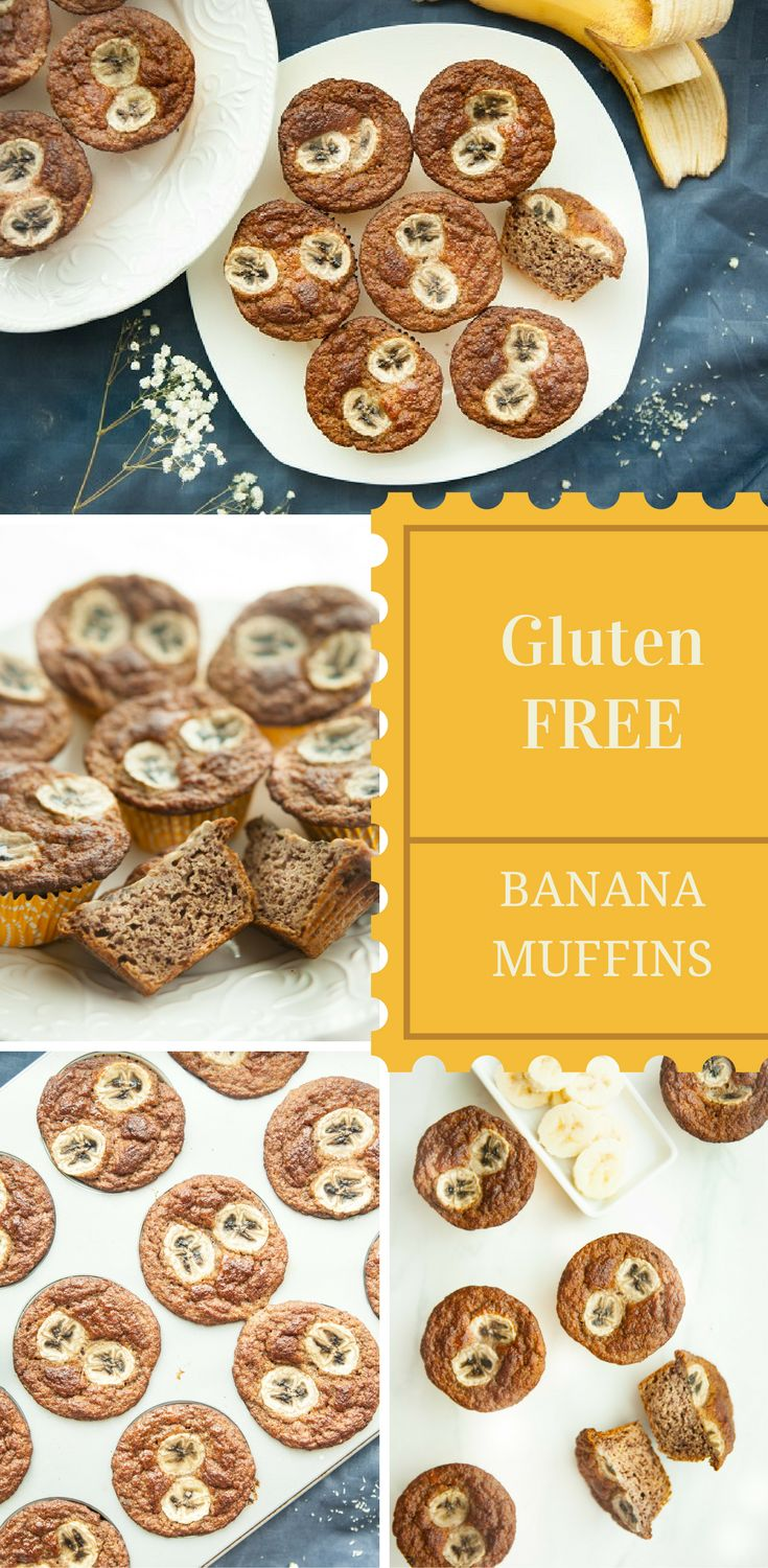 Healthy GLUTEN FREE, SUGAR FREE, PALEO Banana Muffins from PALEONTASTIC.COM