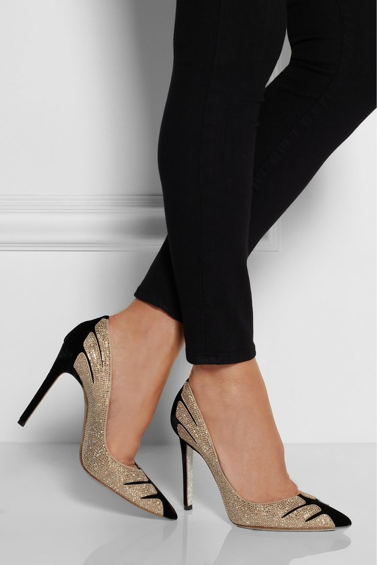 Rene Caovilla  | René Caovilla | shoes ~ I could wear these tonight!!!!!