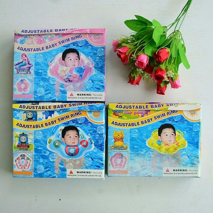 Neck Ring Pelampung Rp. 42.000  Ban renang leher untuk bayi newborn hingga usia 2 th (maks 12 kg)  Tersedia motif : Pooh (redi 1 pcs) Princess (redi 1 pcs)