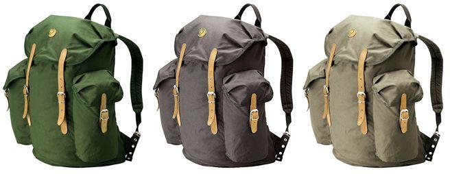 fjällräven vintage swedish backpacks