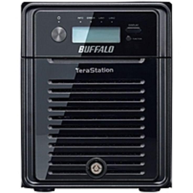 BUFFALO TS3400D0404 TeraStation 3400 4-Drive 4 TB Desktop NAS for Small Business - 4 x 1 TB HDD - Dual Core Processor - iSCSI - File Sharing - WebAccess - Hot Swap/Hot Spare Hard Drives - Backup Software - Cloud Backup - - Dual-core (2 Core)