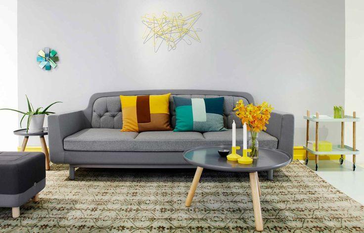 Scandinavische kleuren in huis