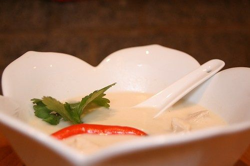 Tom Kha Kai (Chicken coconut soup) | The Asian Grandmothers Cookbook