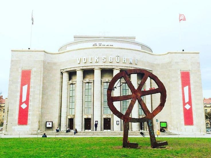 Berlin. Theater. ......... #Berlin #volksbühne  #instacool #instagood #vsco #vscocam #ig_europe #berlinstagram #visit_berlin #berlinmitte #brightberlin #vscomoment #vscoberlin