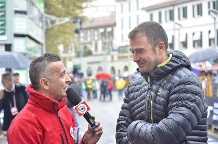 Antonio Rossi al Giro di Lombardia 2013