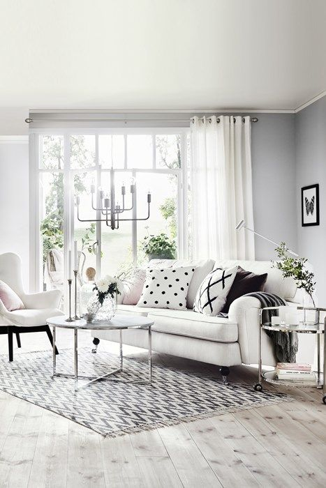 Hampton 3 sits soffa i tyg Dover natur från Mio Vardagsrum Pinterest Grey, Patterns and