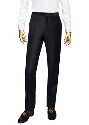 Versace - Tuxedo Trousers with Silk Band