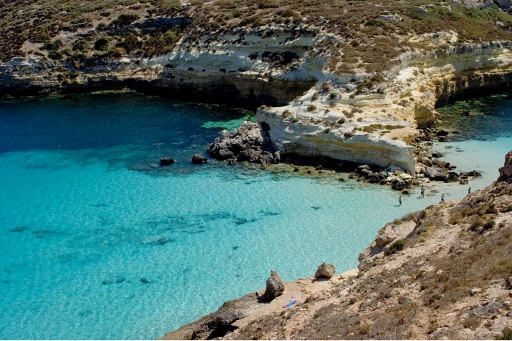 Belonging to the Sicilian province of Agrigento and situated between Malta and Tunisia this group of three islands comprises of Lampione, Linosa and the largest of the three, Lampedusa.