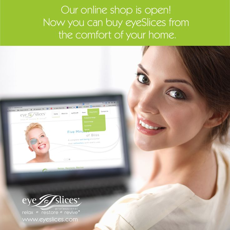 Our online shop is open  -  Now you can buy eyeSlices from the comfort of your own home!  Read more: http://www.eyeslices.co.za/index.php/shop-online