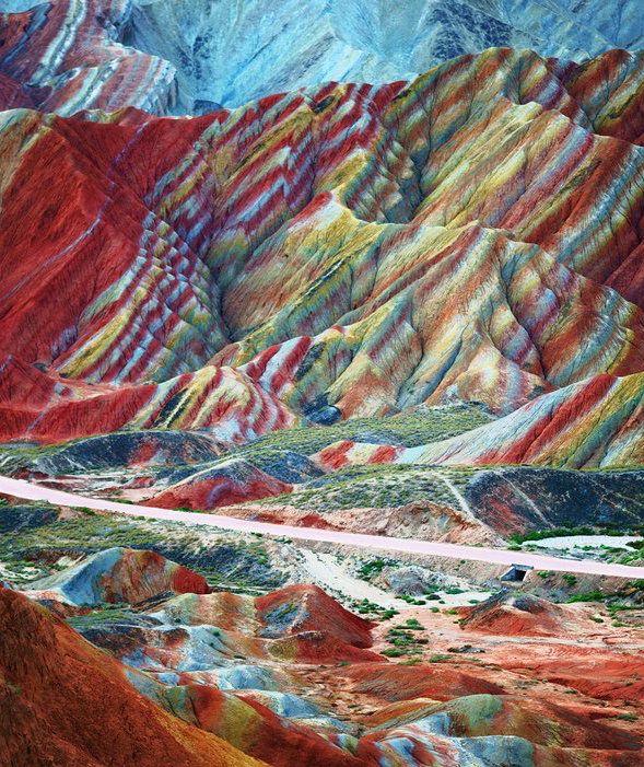 Zhangye Danxia Landform: Gansu, China