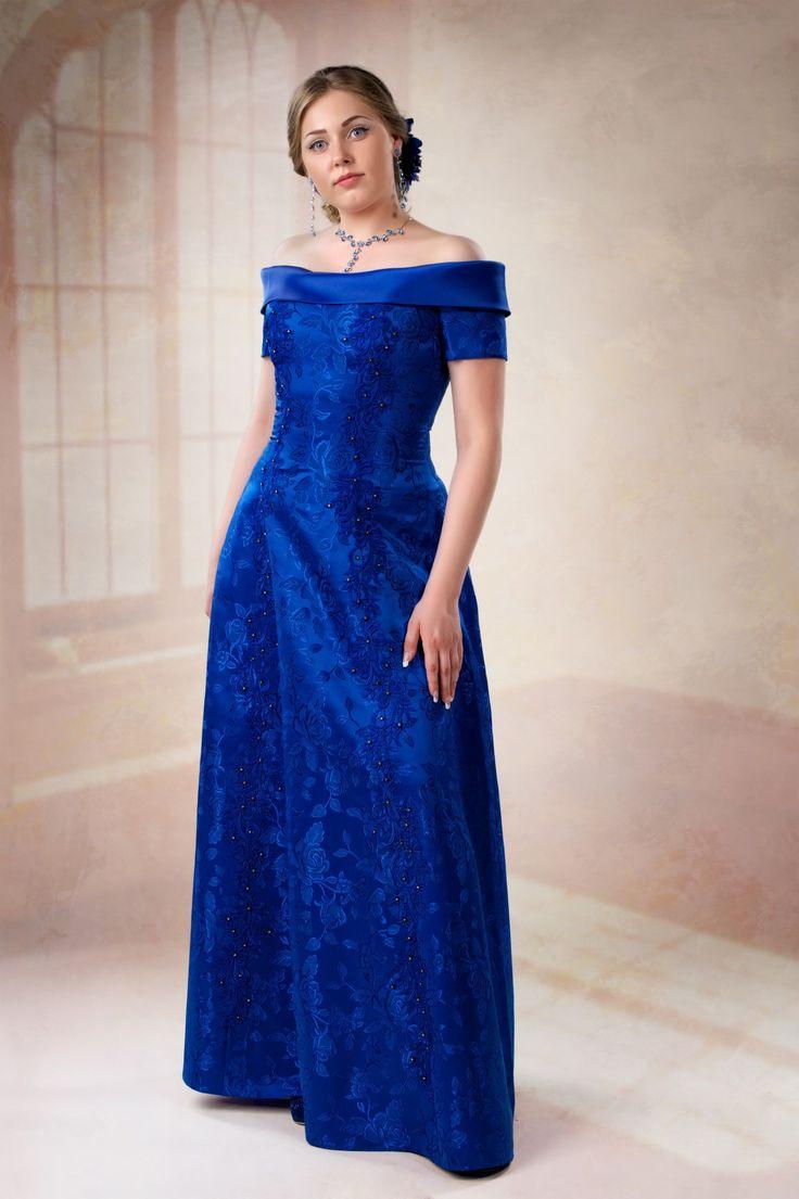 Синие вечерние платья | Вечерние платья больших размеров