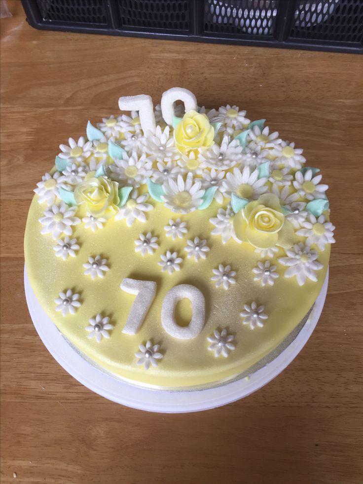 70th Birthday Cake 🎉🎂