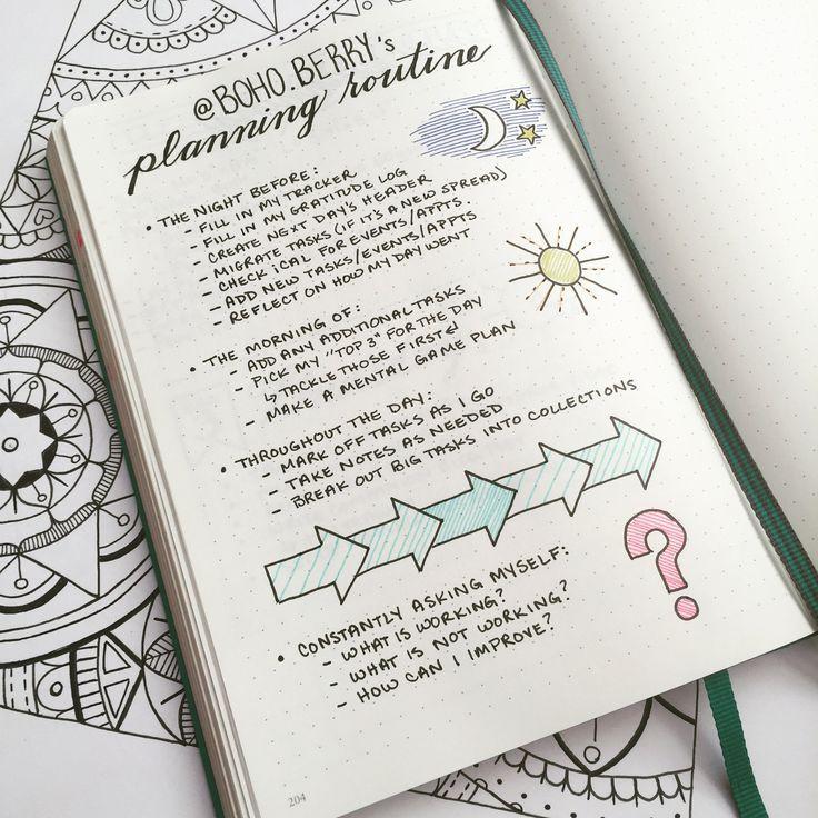 Bullet Journal love...