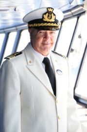 Captain Pierpaolo Scala: An 18-year veteran officer with Carnival Cruise Lines, Captain Scala, like many great mariners, hails from Sicily. Prior to joining Carnival, he piloted massive oil tankers around the globe for Chevron. In 2011, after 2 months of familiarization trainings on MSC Cruises ships he took the command of MSC Opera. (updated: 2012)
