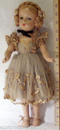 "~ Madame Alexander ""Karen Ballerina"" Doll ~ (1949)"