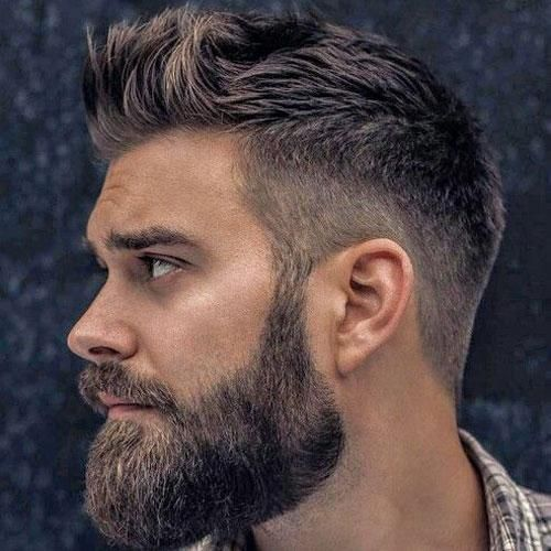 Cool Beard Hairstyle Combos For 2018 In 2019 Barbershop Beard