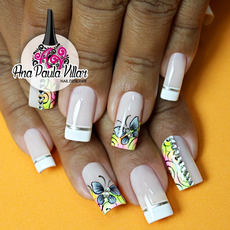 25+ best ideas about Unhas decoradas borboletas on ...
