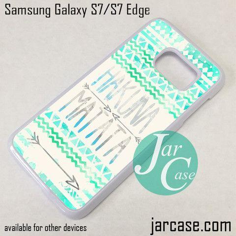 Hakuna Matata Aztec Arrow Phone Case for Samsung Galaxy S7 & S7 Edge