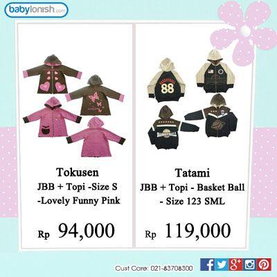 Dapatkan pakaian bayi usia 0-3 tahun di www.babylonish.com  Bersertifikat SNI. Gratis ongkir seluruh Indonesia.