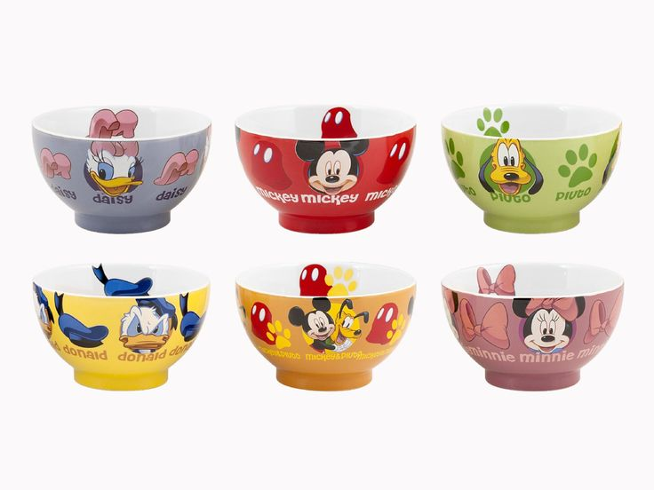 Disney MICKEY MOUSE cereal bowl: Amazon.co.uk: Kitchen & Home