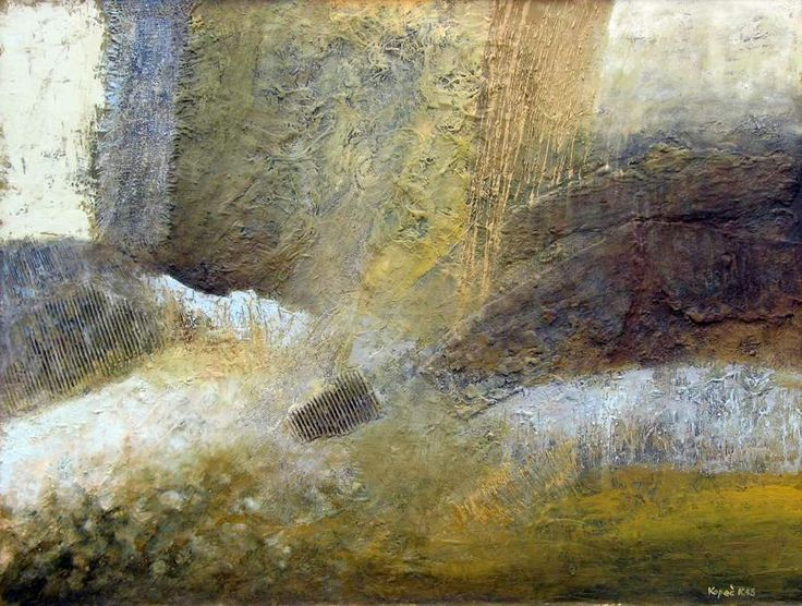 Krzysztof Kopeć, Ścieżki ogrodu, 90 x 120 cm. płótno, techn. własna 2013 r http://artimperium.pl/wiadomosci/pokaz/64,byt-odzyskany-krzysztof-kopec-wystawa-w-3678-gallery#.UlKe21C-2So