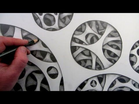 How to Draw a 3D Holes: Simple Optical Illusion - YouTube