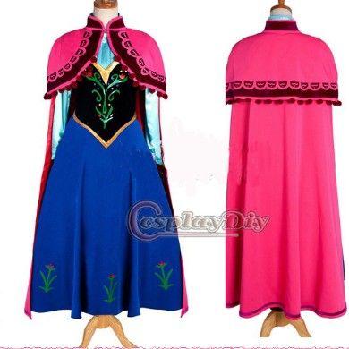 Anna robe de princesse /costume de dessins animés Frozen-Costumes TV & Films-Id du produit:500000519139-french.alibaba.com