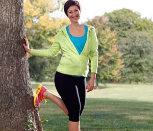 Sara Robbins's sedentary lifestyle packed on the pounds—until she learned it was causing her bones to thin. Now she's active, healthy, and 50 pounds lighter!