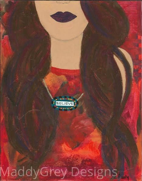 believe, gypsy woman, keep the faith, women of strength, never give up, believe in yourself, confidence, boho art, gypsy art, indie art, - pinned by pin4etsy.com