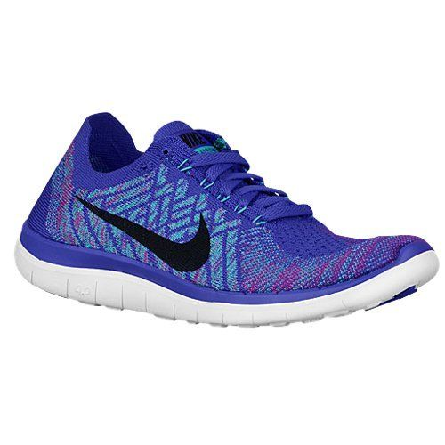 Nike Womens Free 40 Flyknit Running Shoe Persian VioletHyper JadeFuchsia FlashBlack 95 * Click image to review more details.