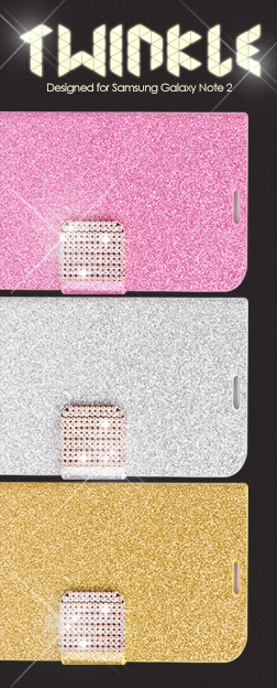 Twinkle Series Samsung Note 2 Cases http://www.dsstyles.com/samsung-galaxy-note-2-cases/twinkle-series-samsung-note-2.html