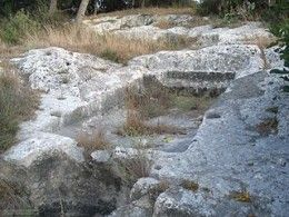 Ancient Wine Press at Migdal, Israel, from the Time of Jacob and Rachel