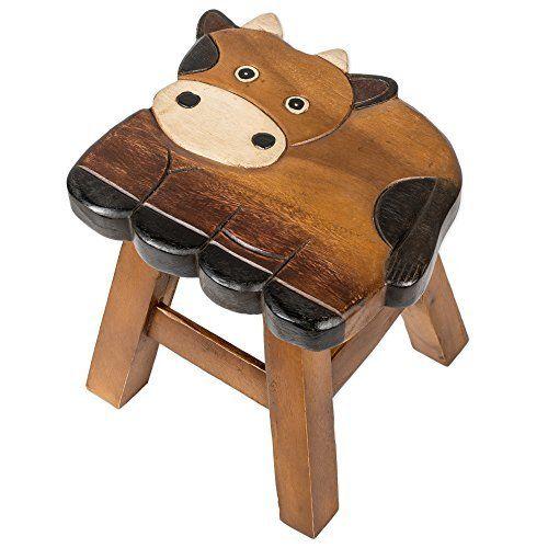 Cow Design Hand Carved Acacia Hardwood Decorative Short Stool, http://www.amazon.com/dp/B01D568BR4/ref=cm_sw_r_pi_s_awdm_nRgFxbJKR79Y8                                                                                                                                                     More