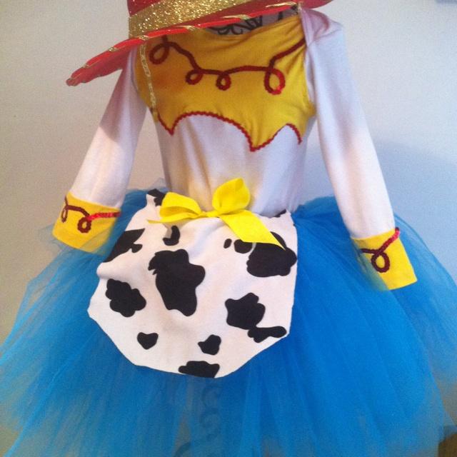 Jessie Toy Story theme birthday party costume (handmade)