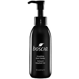 Boscia – Detoxifying Black Cleanser. A warming gel…