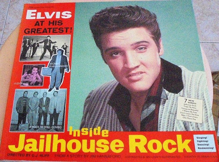 Libro Elvis Presley - Inside Jailhouse Rock - / Ger Rijff  - (hard to find!!!)