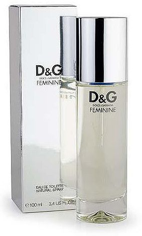 D&G Feminine - clean, fresh and modern. Soft florals and a warm musky, slightly sweet base. Almost minimalist fragrance from the late 90s. Top notes of mimosa, cyclamen, mandarin, water lily; heart notes of lily and heliotrope; base notes of vanilla, sandalwood, cashmeran and musks. (Osmoz).