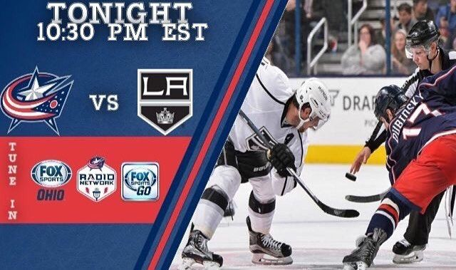 CBJ GAME DAY! The Jackets begin their California road trip tonight when they play the LA Kings in LA at a very late time!  #Jackets #Cbus #Columbus #Cbjackets #AllOfUs #MarchWithUs #WeAreThe5thLine #Ohio #NHL #Hockey #Camsanity #NWA #NationwideArena #Cleveland #Cavs #Indians #Tribe #GoTribeGo #ClevelandIndians #ClevelandTribe #Encarnacion #MLB #Baseball #DawgPound #Browns #CLEBrowns #ClevelandBrowns #CLEOhio