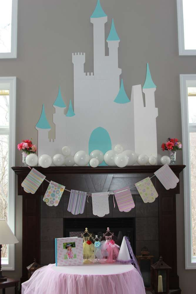 Disney Princess Party Birthday Party Ideas | Photo 1 of 30 | Catch My Party--Some really great ideas for a Purely Princess Party!
