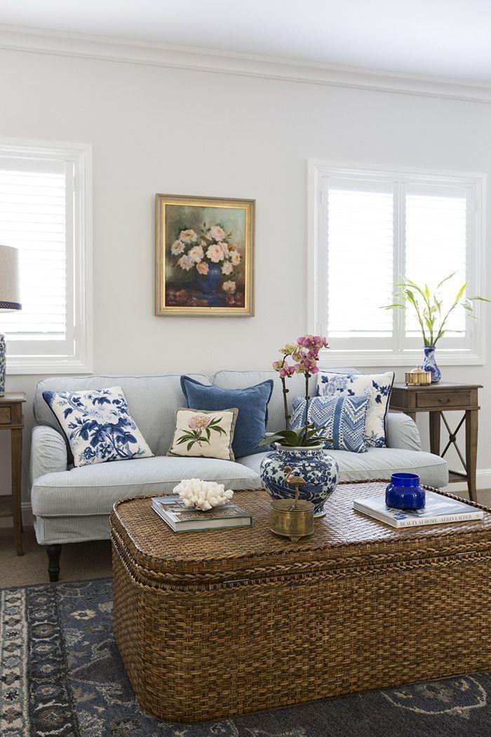 Classic styled lounge setting