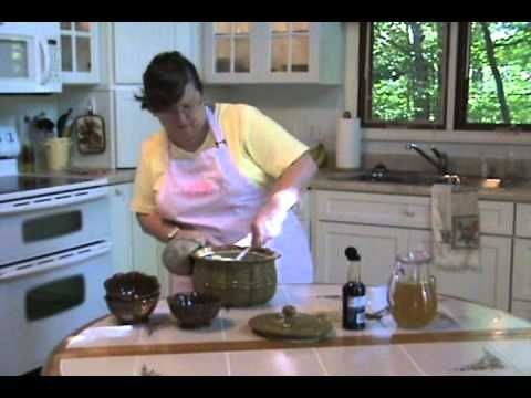 Kathy Hill Celebrating Home Designer Demonstrates Easy Bean Pot Recipe