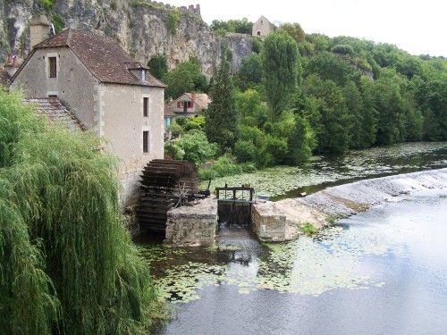 Angles sur l'Anglin : le moulin - Vienne