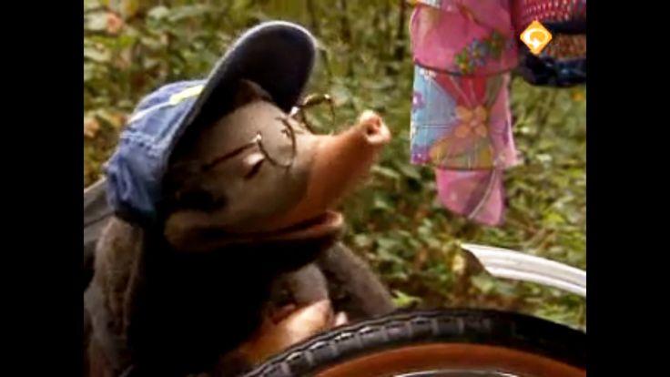 Thema: Techniek. Moffel en Piertje zijn onderweg om aan een fietstocht mee te doen. Ze krijgen plotseling een lekke band. Moffel weet gelukkig dat ze naar de fietsenmaker toe moeten. Piertje vraagt zich bezorgd af of de band wel op tijd gemaakt zal zijn voor de fietstocht. De fietsenmaker hangt de fiets in de katrollen en laat aan Moffel en Piertje zien hoe je een band moet plakken. Als de telefoon gaat, loopt de fietsenmaker even weg. Moffel denkt dat hij wel weet hoe je een band moet…