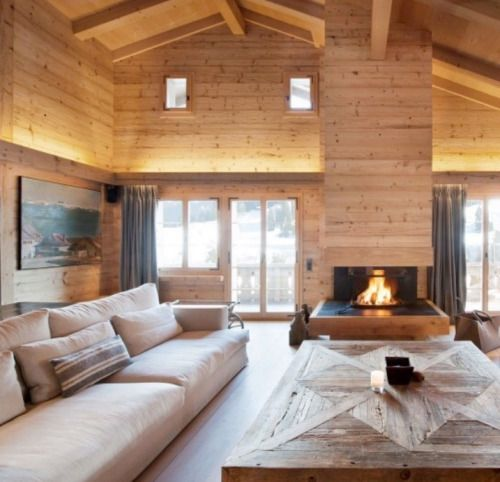 Cocooning chalet /Martine Haddouche/