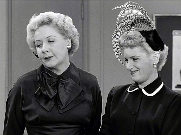 "Shirley Mitchell, better known as ""Marion Strong"" with Vivian Vance ""Ethel Mertz"""