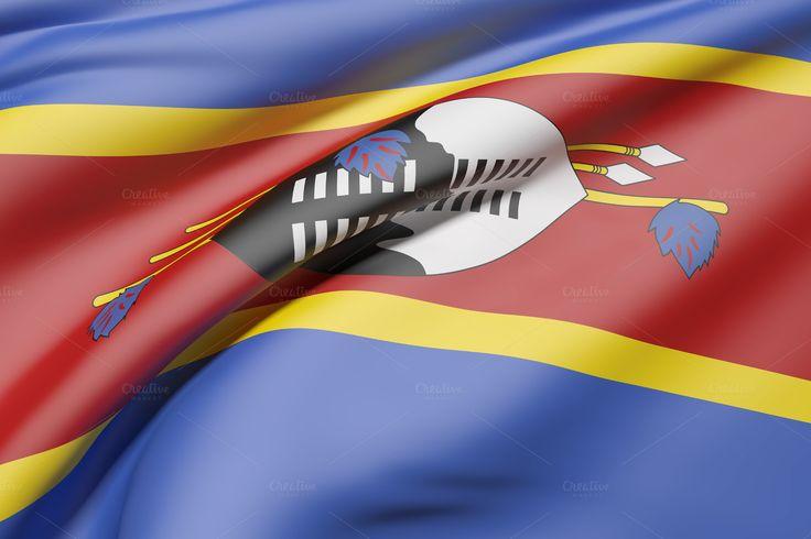 Swaziland flag by De todo un poco on @creativemarket