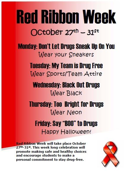 red ribbon week winning essays A door banner contest, essay contest and other activities will be conducted at freedom park school and the classroom from each grade that has a winning entry in the banner contest will be given a packet of red ribbon materials.