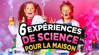 experience chimique a faire a la maison - YouTube