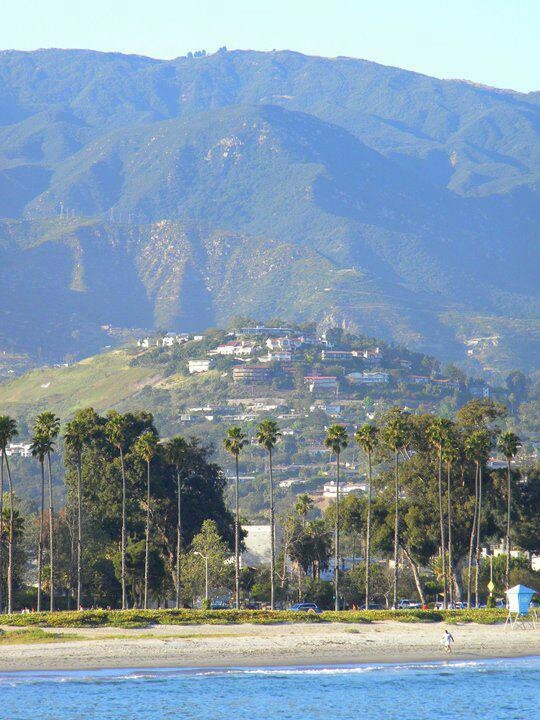 One of my favorite views of Santa Barbara and the mountains behind!