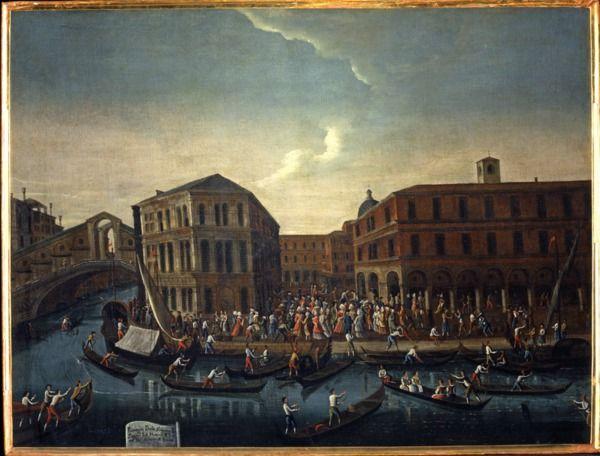 """""""Il passeggio al mattino all'Erbaria di Rialto"""", 1779?-1792 #gabrielbella #querinistampalia"""
